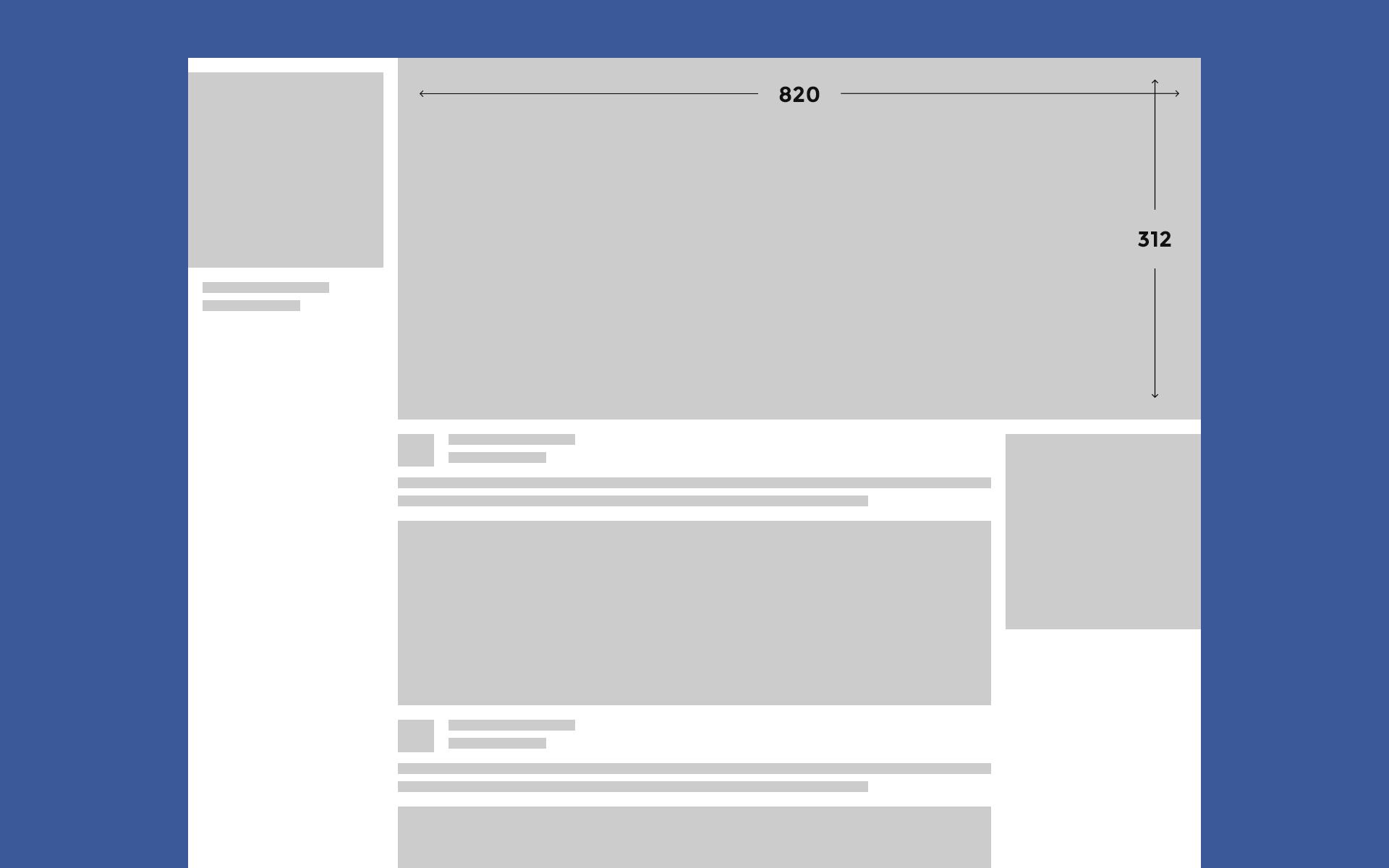 Facebook omslagfoto formaat