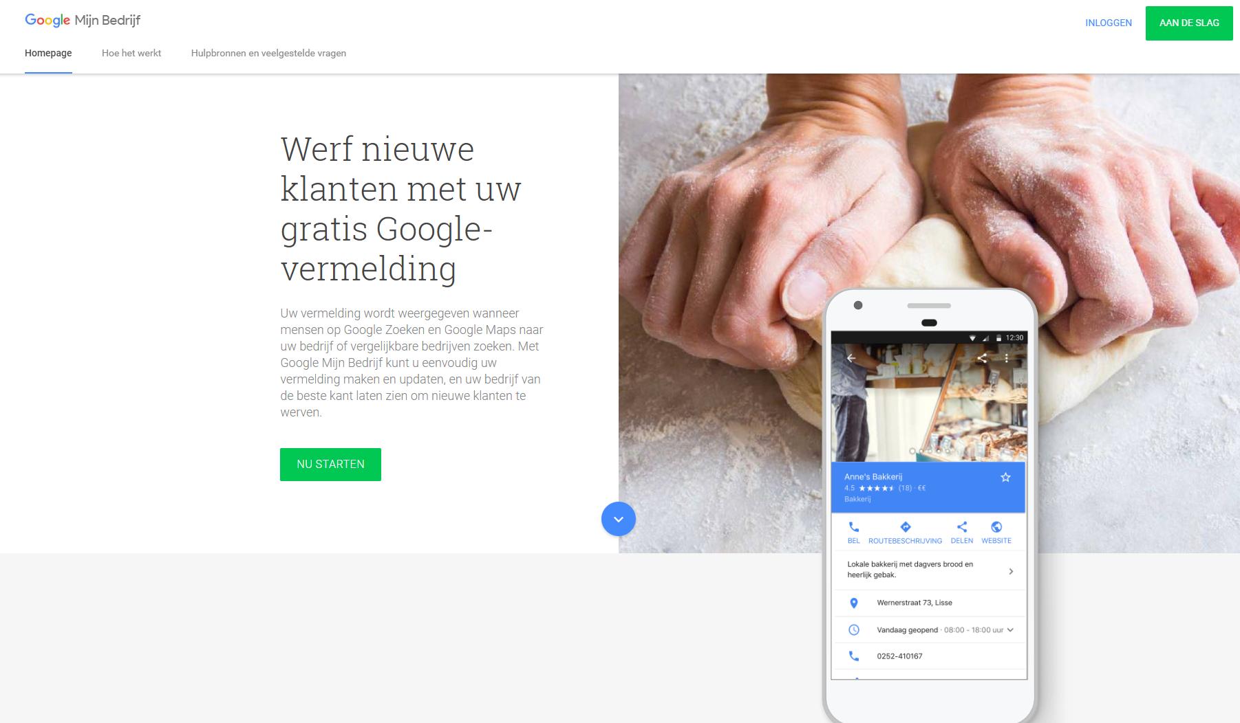 Je bedrijf in Google Mijn Bedrijf claimen en verifiëren