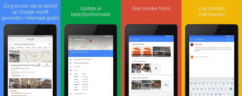 Google Mijn Bedrijf app