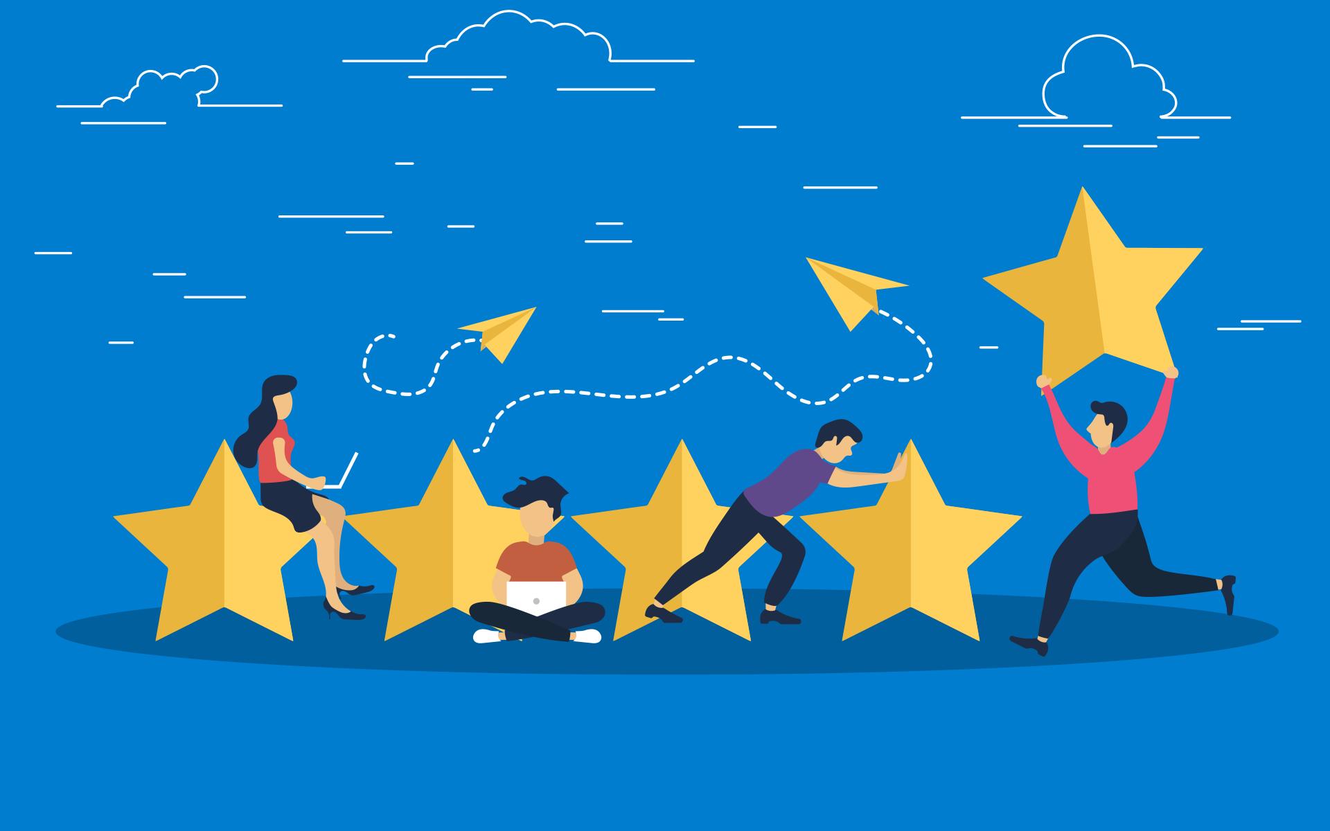 8 Redenen om juist nu werk te maken van je online reviews